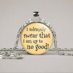 📜 Harry Potter Necklace 🧹